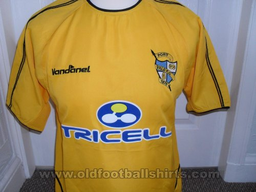 Port Vale Away футболка 2003 - 2005
