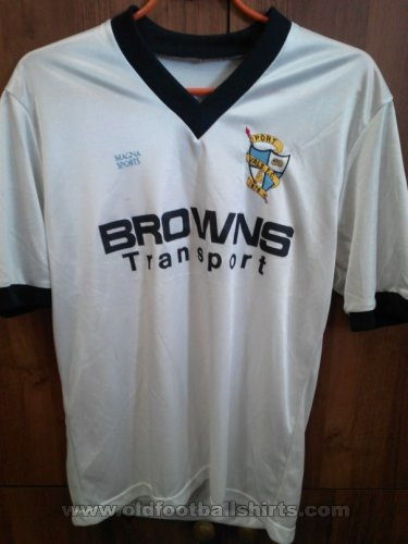 Port Vale Home football shirt 1986 - 1987