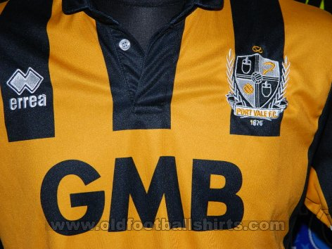 Port Vale Away football shirt 2014 - 2015
