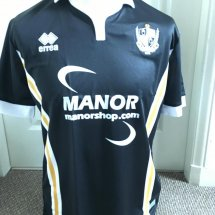 Port Vale Away Fußball-Trikots 2017 - 2018 sponsored by Manorshop.com