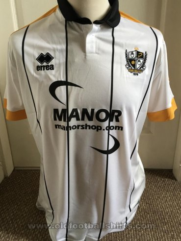 Port Vale Home football shirt 2017 - 2018