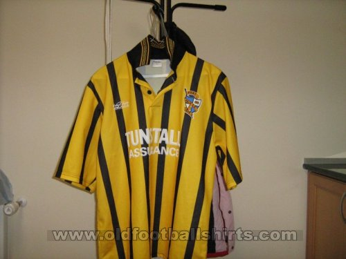 Port Vale Away football shirt 1996 - 1997