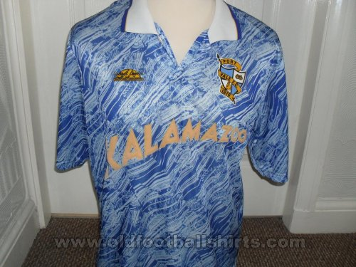 Port Vale Away baju bolasepak 1991 - 1992