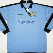 Port Vale Away Fußball-Trikots 2005 - 2006 sponsored by BGC