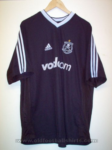 Orlando Pirates Home football shirt 2003 - 2004