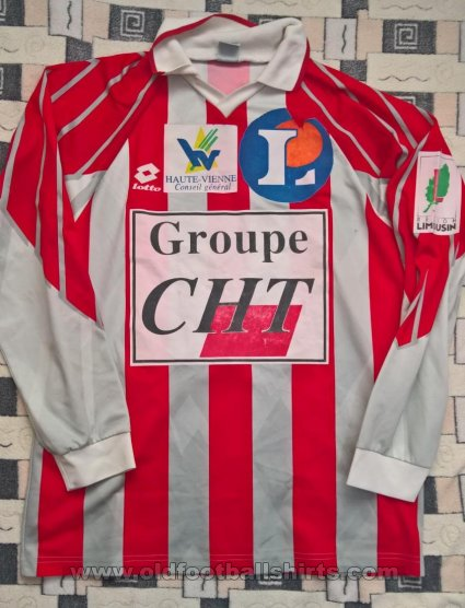 Limoges FC Home חולצת כדורגל 1994 - 1995