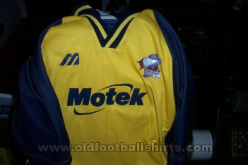 Scunthorpe United Away football shirt 1999 - 2000