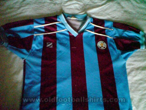 Scunthorpe United Local Camiseta de Fútbol 1987 - 1988