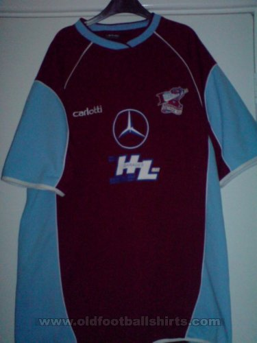 Scunthorpe United Home football shirt 2004 - 2005