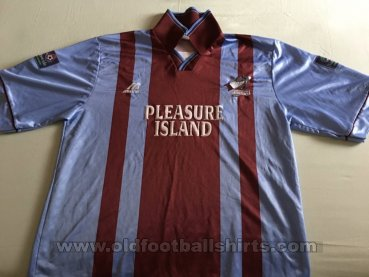Scunthorpe United Home football shirt 1996 - 1998