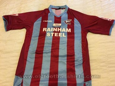 Scunthorpe United Home football shirt 2009 - 2010