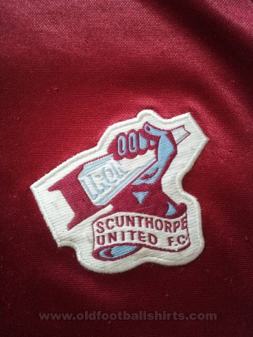 Scunthorpe United Home Fußball-Trikots 2003 - 2004