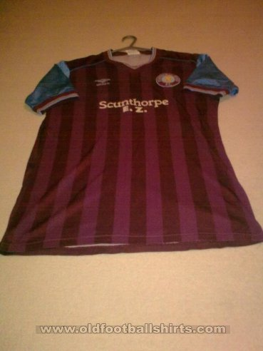 Scunthorpe United Home football shirt 1983 - 1985