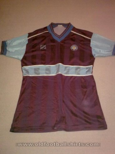 Scunthorpe United Home football shirt 1985 - 1987