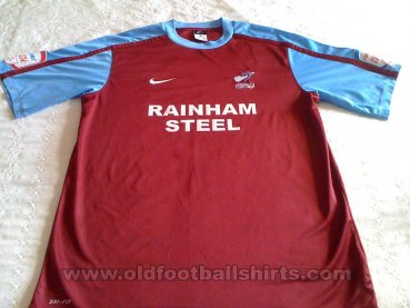 Scunthorpe United Home football shirt 2010 - 2011