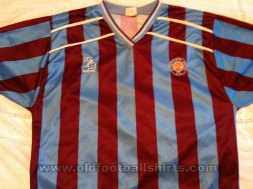 Scunthorpe United Home football shirt 1987 - 1989