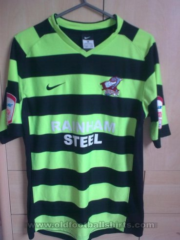 Scunthorpe United Away baju bolasepak 2010 - 2011