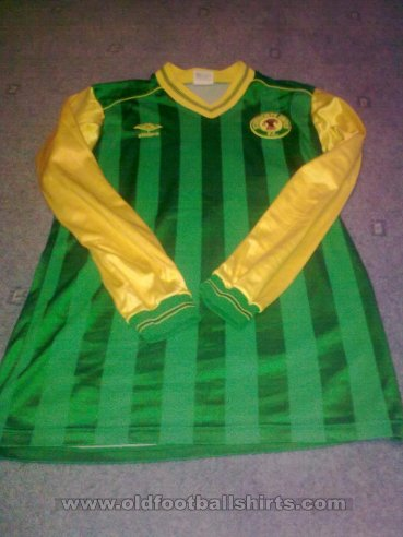Scunthorpe United Away baju bolasepak 1983 - 1985