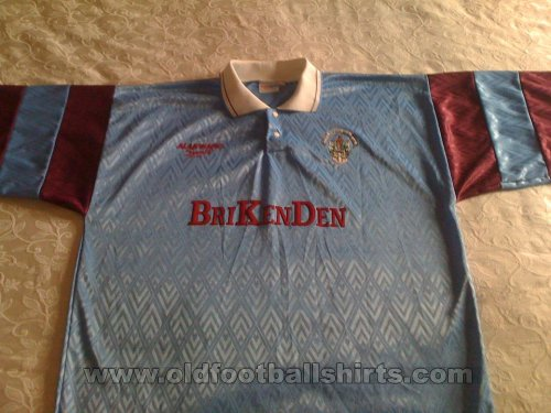 Scunthorpe United Local Camiseta de Fútbol 1992 - 1994