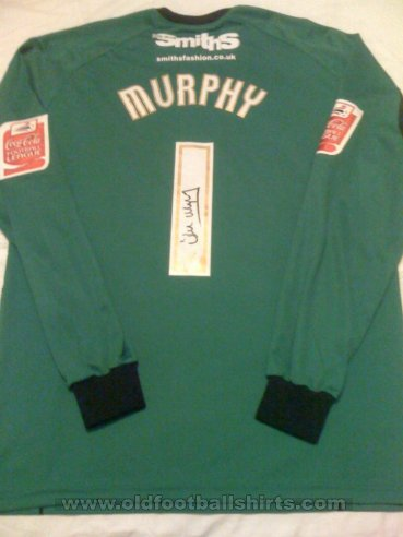 Scunthorpe United Keeper  voetbalshirt  2009 - 2010