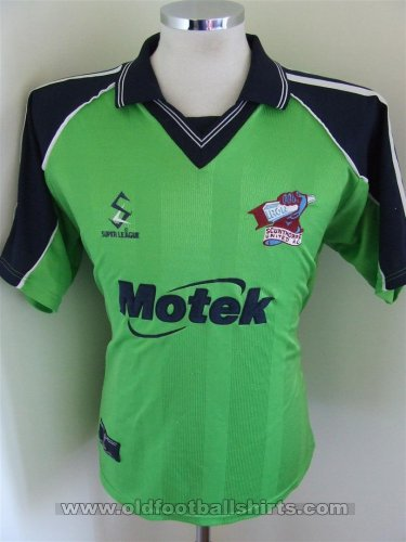 Scunthorpe United Away baju bolasepak 2000 - 2001