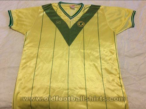 Scunthorpe United Away baju bolasepak 1982 - 1983
