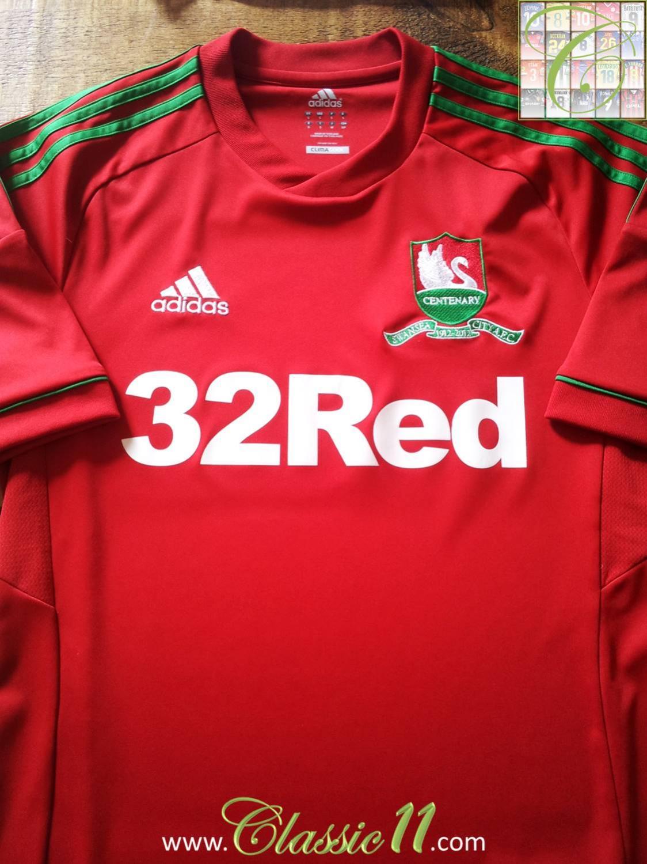 Swansea city ext rieur maillot de foot 2012 2013 ajout for Maillot exterieur