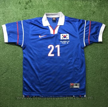 South Korea Away football shirt 1998