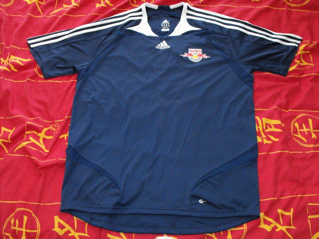 720d2e325819e Red Bull Salzburg Away Maillot de foot 2007 - 2008. Sponsored by no ...