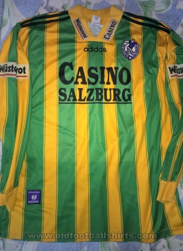 Red Bull Salzburg Away voetbalshirt  1996 - 1997