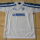 Tranmere Rovers football shirt 2000 - 2002