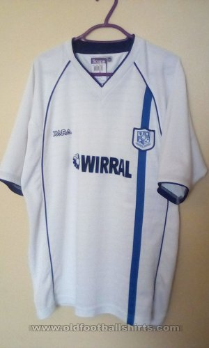 Tranmere Rovers Home φανέλα ποδόσφαιρου 2002 - 2004