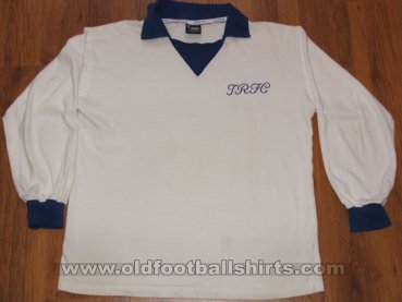 Tranmere Rovers Домашняя футболка 1973 - 1976