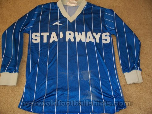 Tranmere Rovers Home voetbalshirt  1980 - 1981