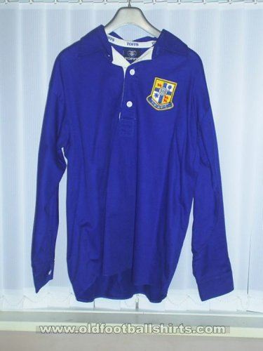 Tranmere Rovers Retro Replicas football shirt 1937 - 1938