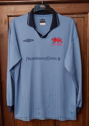 Cambridge University A.F.C. Home Camiseta de Fútbol (unknown year)