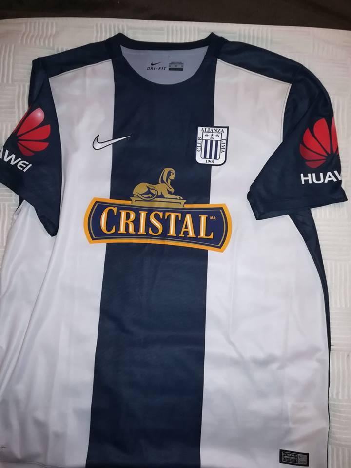 8108327246c Alianza Lima Home Maillot de foot 2016.