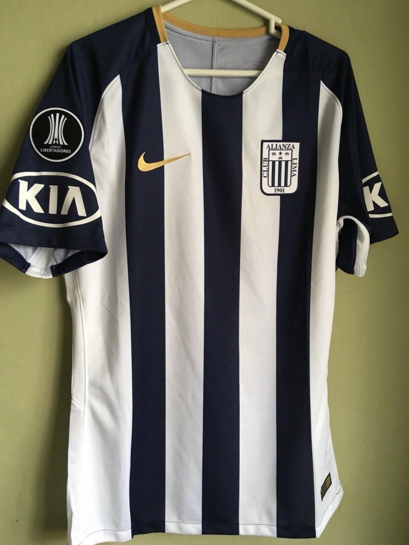 59f6bd9e598 Alianza Lima Home Maillot de foot 2018 ...