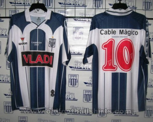Alianza Lima Home football shirt 2002 - ?