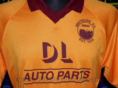 Whitburn FC Home Maillot de foot (unknown year)