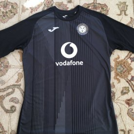 Woolpack Wanderers Home baju bolasepak 2019 - 2020 sponsored by Vodafone