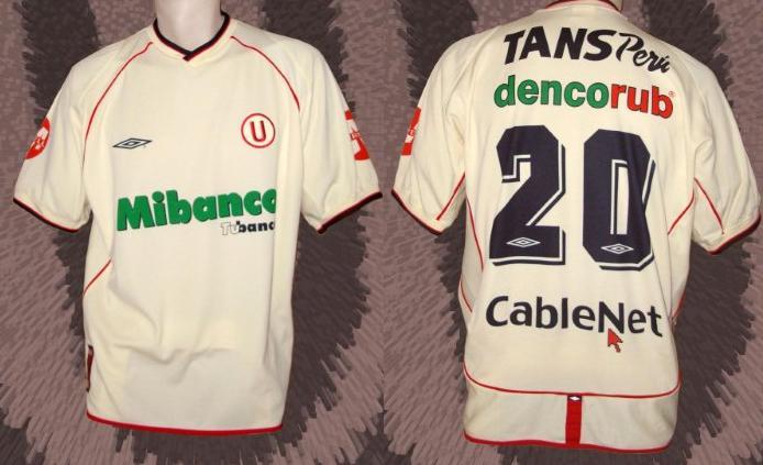 Jersey Universitario de Deportes 2019 Football  Away Marathon Peru