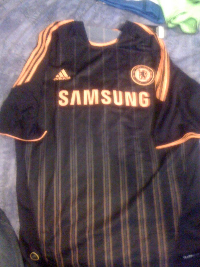 Chelsea Away Maillot de foot 2010 - 2011. Sponsored by Samsung f9f077ba8