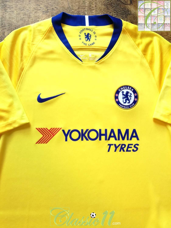 timeless design fbea5 564d8 New Season Chelsea Away football shirt 2018 - 2019 ...