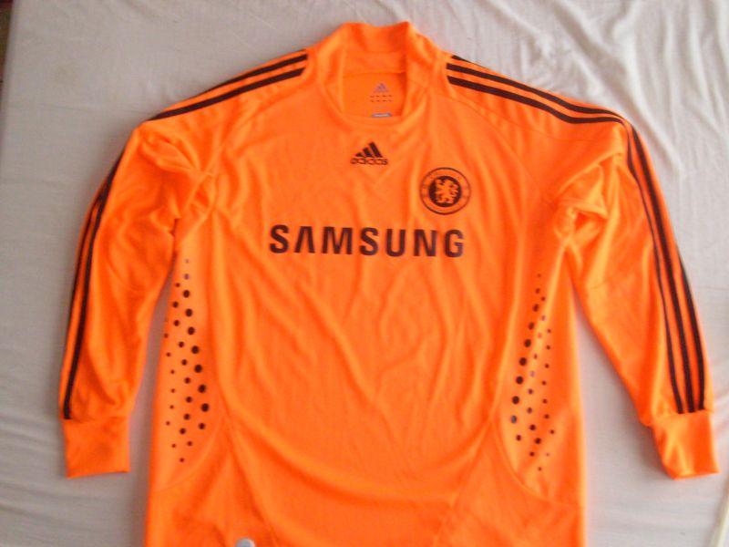 online store 9fbe6 b70b1 Chelsea Goalkeeper Camiseta de Fútbol 2008 - 2009. Sponsored ...