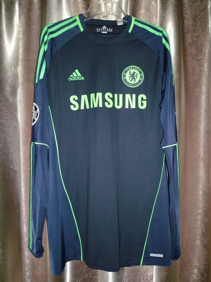c0e8feffc Chelsea Goalkeeper Camiseta de Fútbol 2010 - 2011. Sponsored by Samsung