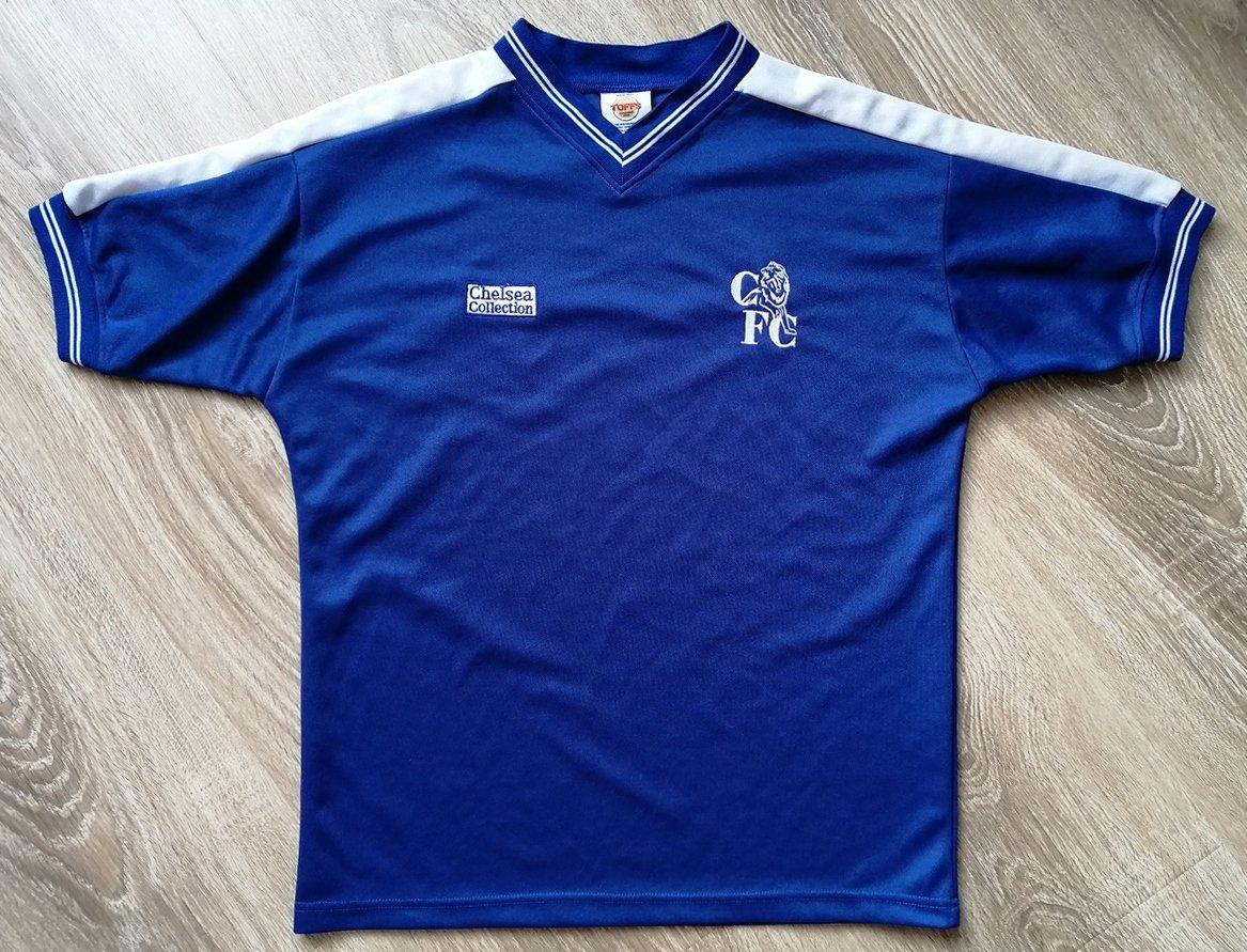promo code 42551 10584 Chelsea Home football shirt 1986 - 1987.