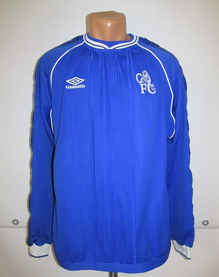 best authentic 88fe8 0df97 Chelsea Home baju bolasepak 1999 - 2001. Sponsored by no sponsor