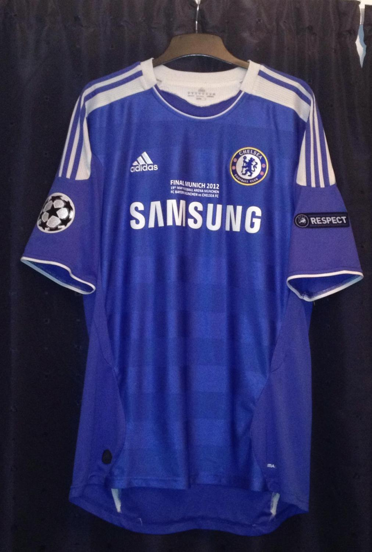 premium selection 64e12 497ea Chelsea Home camisa de futebol 2011 - 2012. Sponsored by Samsung