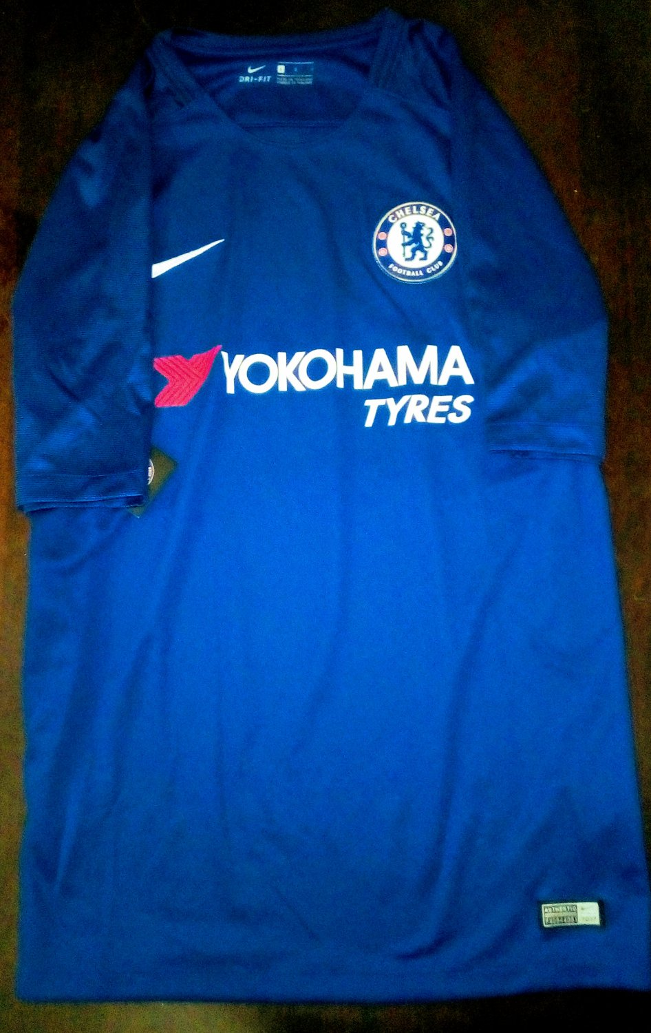 watch 7d986 66cae Chelsea Home football shirt 2017 - 2018. Sponsored by ...
